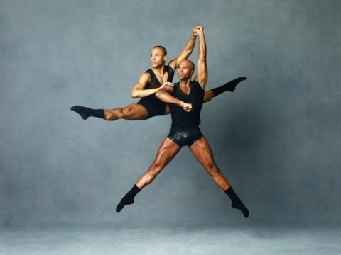 Ballet fitness with Glen Sims of the Alvin Ailey Dance Theather