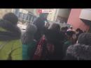 Слонов кормят блинами в зоо Ростова на Дону в честь Масленницы live