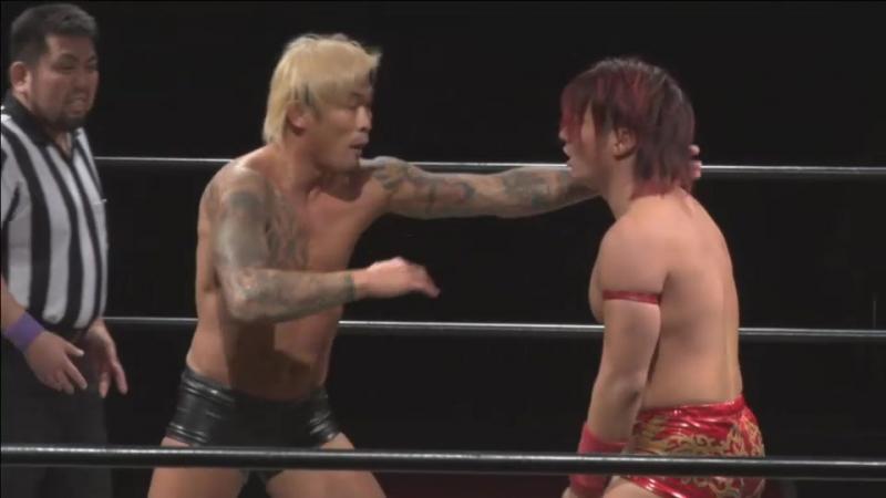Soma Takao vs. Yukio Sakaguchi (DDT - D-Ou Grand Prix 2018 In Shin-Kiba - Day 7)