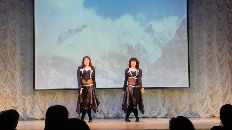 2. 21.04.18. Кириши, МАГИЯ, 5 лет, отчетн концерт Танец гор
