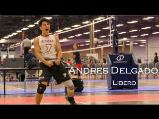 Andres Delgado - Incredible Volleyball Libero