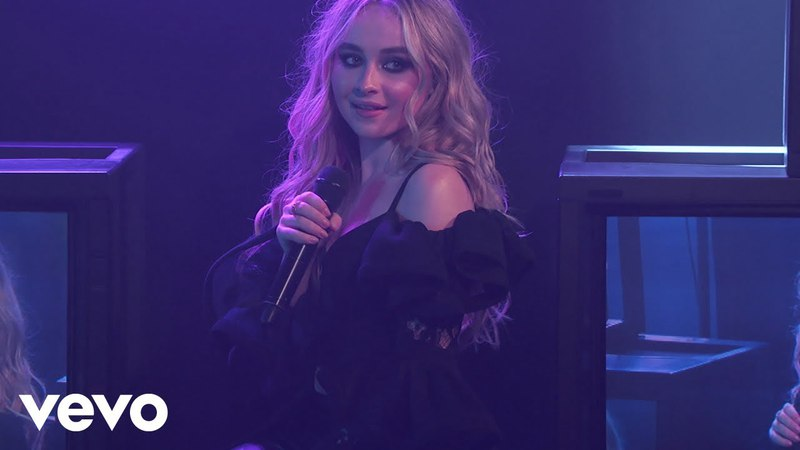 Sabrina Carpenter, Jonas Blue - Alien (Jimmy Kimmel Live!/2018)