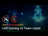 Team Liquid vs LGD