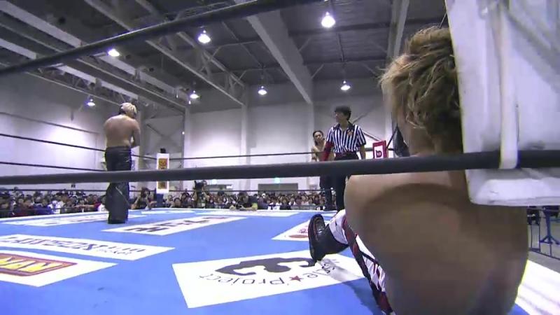 Hirooki Goto, Kazuchika Okada, YOSHI-HASHI vs. Minoru Suzuki, Taichi, Takashi Iizuka (NJPW - New Japan Cup 2018 - Day 5)