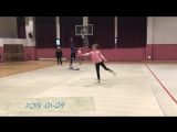 APRIL(에이프릴) - 레이첼의 아육대 리듬체조 연습현장 대공개!