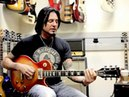Jason Hook of Five Finger Death Punch Jams out at RM Guitars in Las Vegas - February 2013