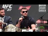 Пресс-конференция UFC 217 [русская озвучка от My Life is MMA]