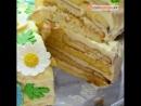 Торт «Молочная девочка».