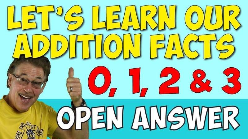 Let's Learn Our Addition Facts 1 | Addition Song for Kids | Open Answer | Jack Hartmann