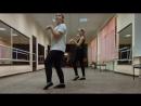 А вот и мой первый, сочинённый танецотрывок