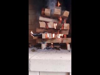 Камин- мангал с печью под казан от Дмитрия.