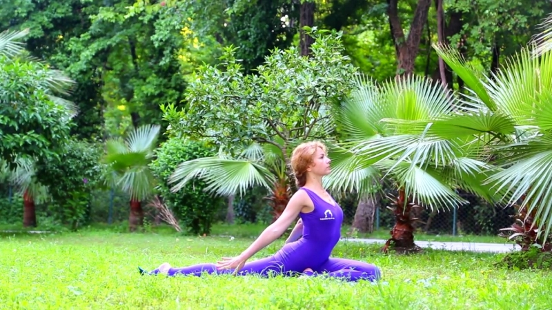 Йога для тонуса организма