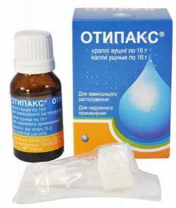 Особенности препарата Отипакс