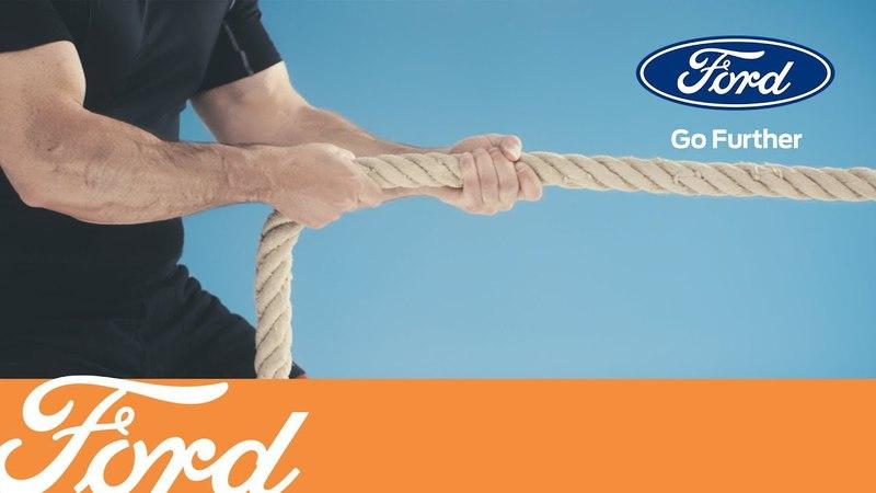 Как найти буксировочную проушину | Ford Russia