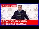 Cumhurbaşkanı Erdoğan'ın İstanbul'da 80 Okul ve 59 Spor Salonu Açılış Konuşması 02.04.2018