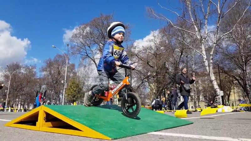 Беговелогонка Strider Rasing Vologda 2018 29 апреля 2018 года