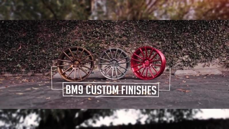 Black di Forza BM9 Custom Finishes Savini Wheels