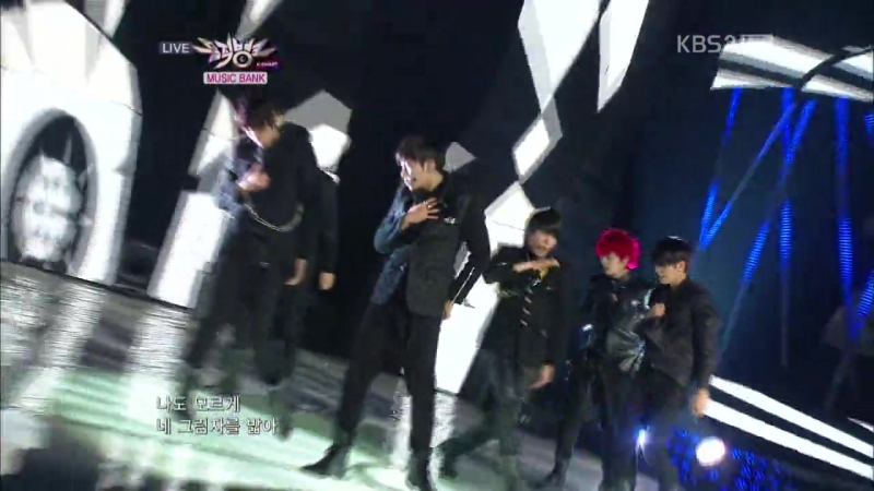 110107   Infinite - Hysterie BTD   Music Bank