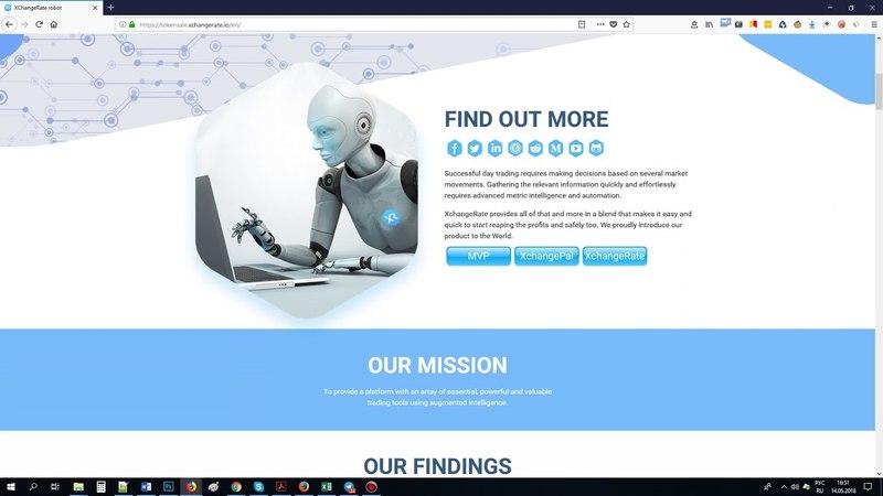 XchangeRate - платформа для трейдинга, предлагающая инструменты на базе искусственного интеллекта