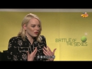 Emma Stone reveals her funny reaction when she met Billie Jean King|Popcorn Movies