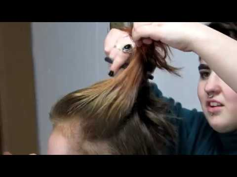 Shaving Chloe's head | FMP