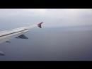 Таймлапс посадки в аэропорту Анталии