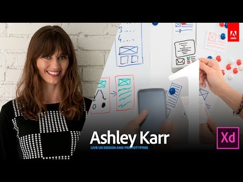 Live UX Design with Ashley Karr 1/3