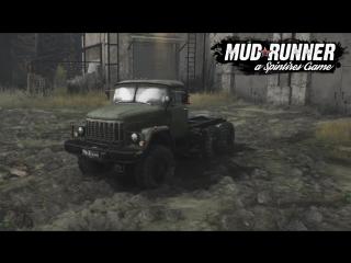 Демонстрация ЗИЛ-131 в Spintires: MudRunner