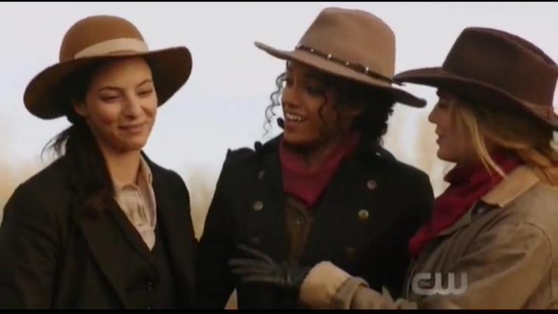 Легенды завтрашнего дня 3 сезон 18 серия Сара и Зари и Амайя