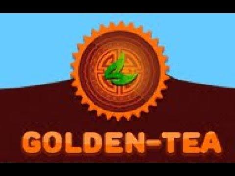 Сайт для заработка денег от 350 рублей в день Golden Tea!