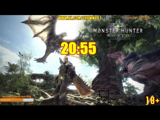 [18+] Шон играет в Monster Hunter World (PS4)