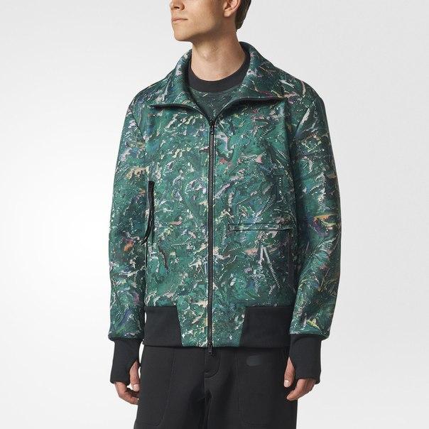 Куртка-бомбер Y-3 Future Sport AOP