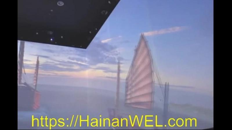 Музей Южно-Китайского моря на острове Хайнань, Китай - крупнейший и самый современный музей Китая с 3D технологиями- экскурсия н » Freewka.com - Смотреть онлайн в хорощем качестве