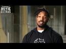 Black Panther | On-set visit with Michael B. Jordan Erik Killmonger