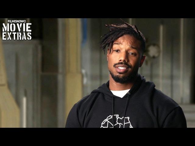 Black Panther | On-set visit with Michael B. Jordan