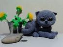 Вислоухий котик, ч.1. Scottish fold, р.1. Amigurumi. Crochet. Амигуруми. Игрушки крючком.