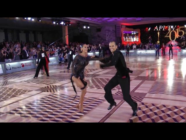 Roman Kovgan Daria Palei - Jive - API TV DANCE STARS