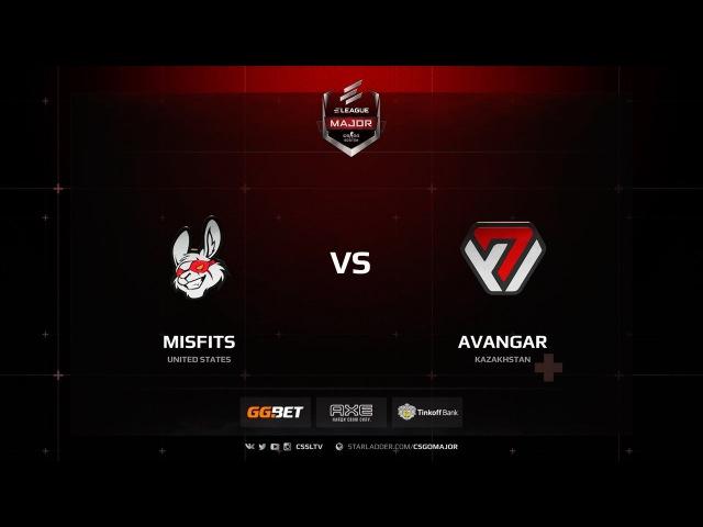 Misfits vs AVANGAR @ @ de cache
