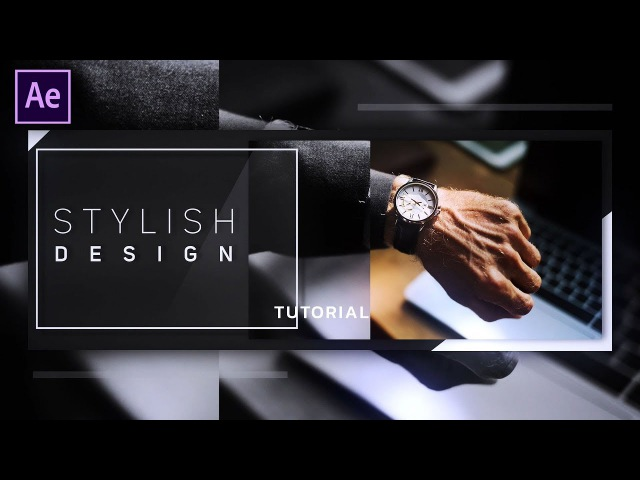 After Effects Tutorial: Stylish Slideshow Animation in After Effects