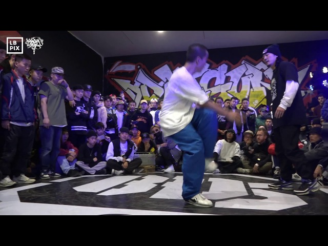 Footwork Final | Trice VS Just Roc @ Dragonstyle 11th Anniversary | LB-PIX