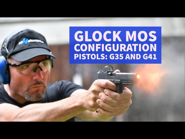 GLOCK MOS configuration pistols: G35 and G41