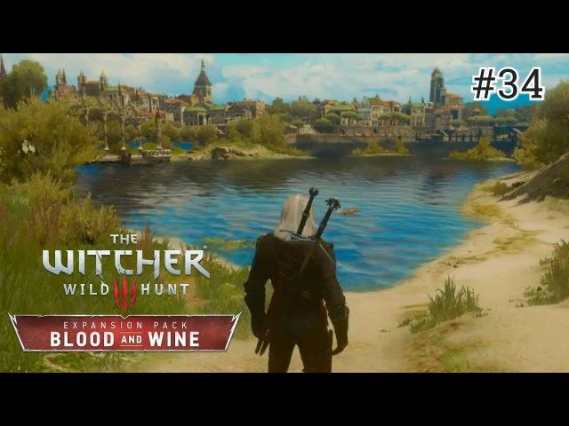 The Witcher 3: Blood and Wine - 34 серия [Упырица актрисуля]