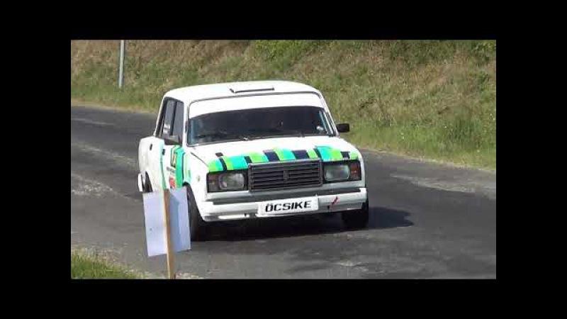 Kovács-Györkő Lada 2107 7xGörbe kupa 2017.-Lepold Sportvideo