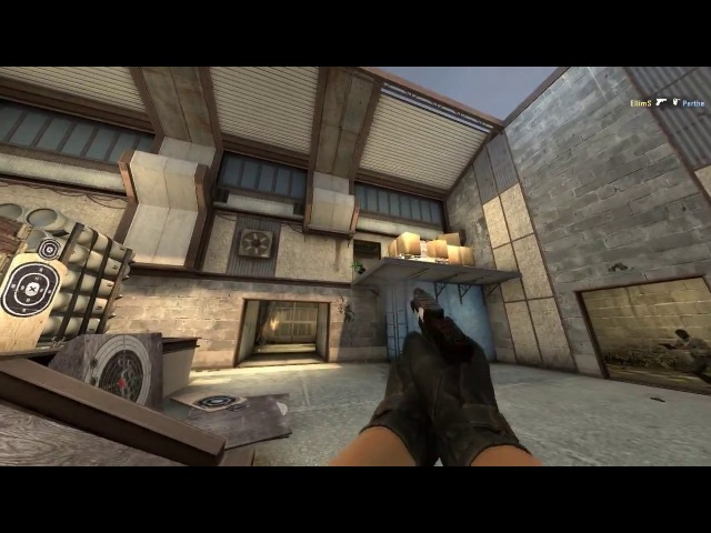 CS:GO highlight pistol ace with glock-18 by EllimS