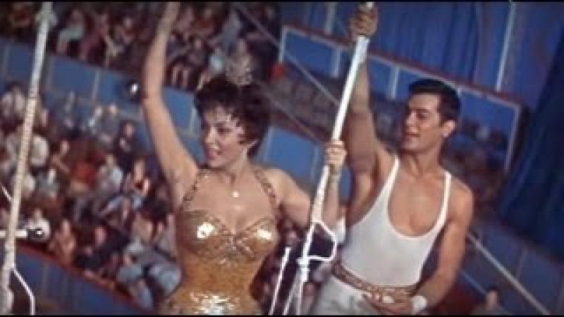 TRAPEZE (1956) film highlights - Gina Lollobrigida, Tony Curtis
