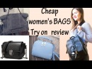 BAGS\BACKPACKS from Aliexpress  My try on haul review.