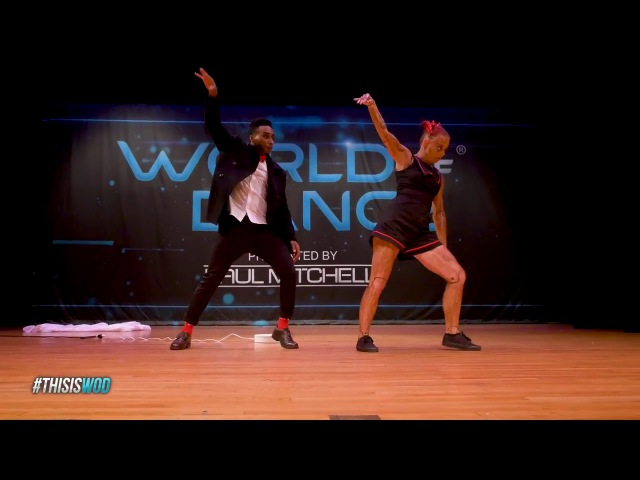 Dubstep dance /B-Dash Jaja Vankova/ world of dance 2018