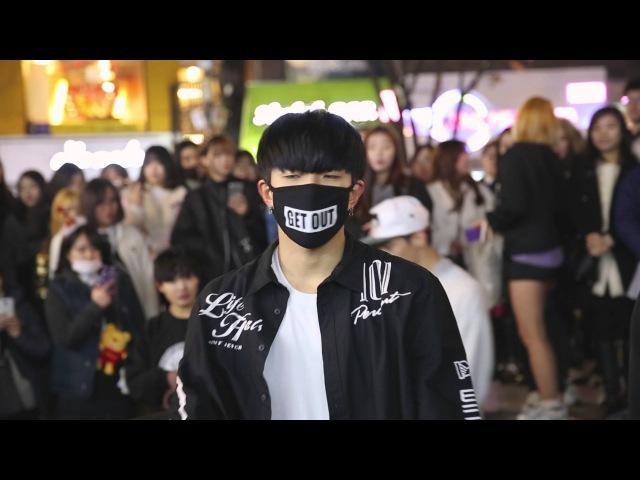 D.O.B 디오비 20151224 홍대 공연《GOODBOY》(GDTAEYANG)