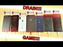 Razer Phone vs iPhone X vs Note 8 vs OnePlus 5T vs Pixel 2 XL vs V30 vs S8 - Battery Drain Test!