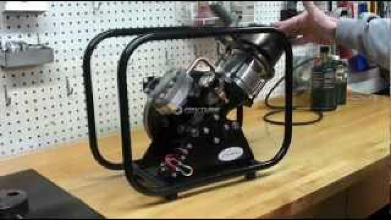 Stirling Engine SV2 MKII by Kirk Engines, Inc.